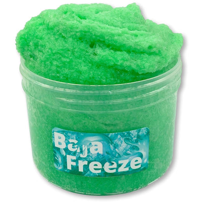 Baja Freeze Snow Fizz Slime - Shop Slime - Dope Slimes