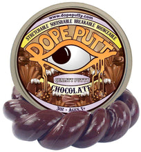Load image into Gallery viewer, chocolate putty scented dope putty valentines