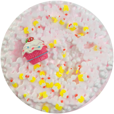 Strawberry Shortcake Bites - Cloud Slime - www.dopeslimes.com - Dope Slimes LLC