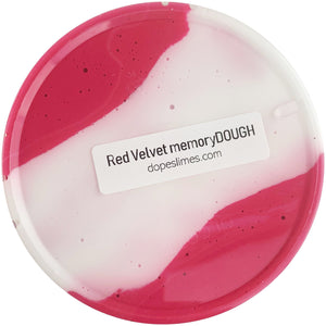 Red Velvet memoryDOUGH Scented Slime - Buy Slime - DopeSlimes Shop