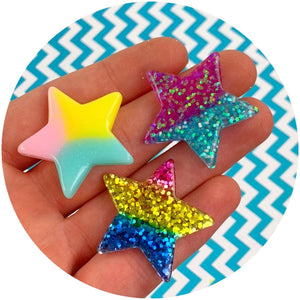 Jumbo Star Charms  - Shop Slime Supplies - Dope Slimes