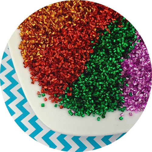Solid Color Bingsu Beads - 4 colors!