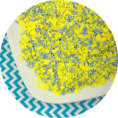 Blue Hawaiian Sprinkle Mix - Fimo Slices - Dope Slimes LLC - Dope Slimes LLC