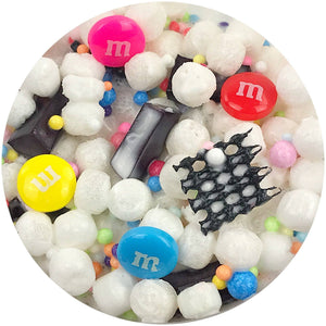 M&M Trial Mix Floam Slime Scented w/ Charm(s)