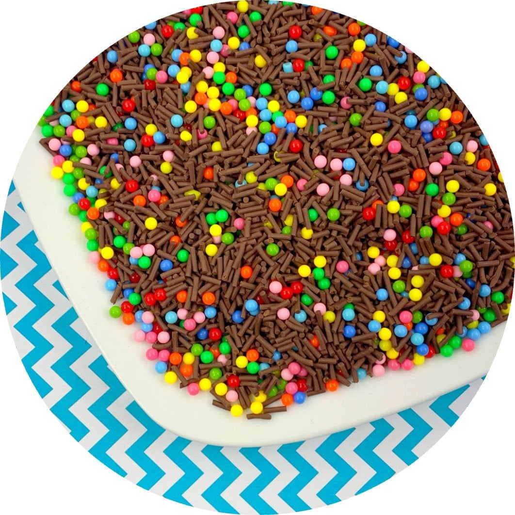 Cosmo Brownie Sprinkle Mix - Fimo Slices - Dope Slimes LLC - Dope Slimes LLC