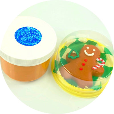 Gingerbread Man DIY Slime - Shop Slime - Dope Slimes