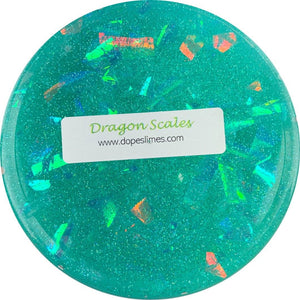 Dragon Scales Clear Slime Scented - Shop Slime - Dope Slimes