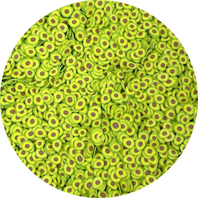 Avocado Fimo Slices - Fimo Slices - Dope Slimes LLC - Dope Slimes LLC