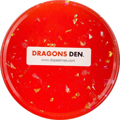Dragons Den Clear Slime - Shop Slime - Dope Slimes