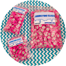 Load image into Gallery viewer, Jumbo Dragon Fruit Fimo Slices