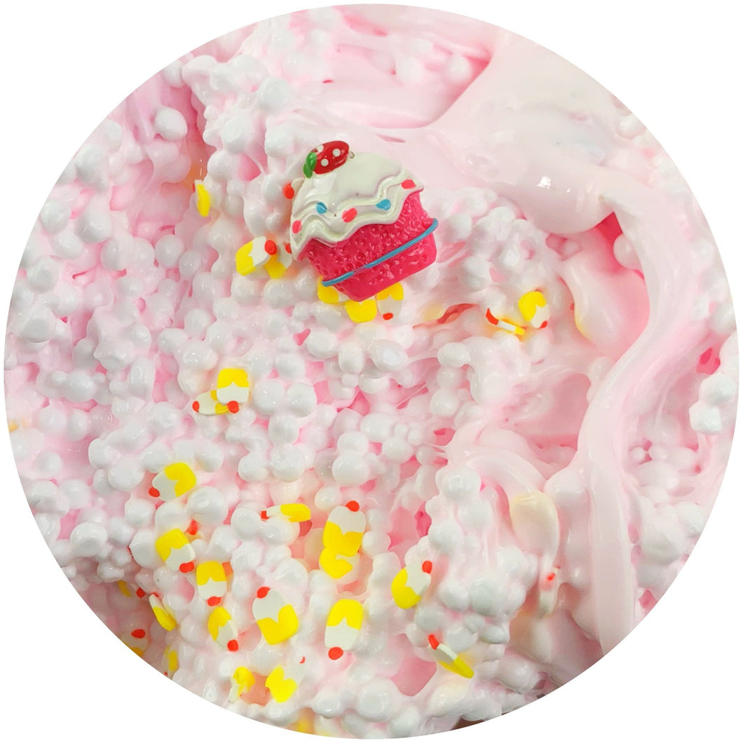 Strawberry Shortcake Bites Slime - Buy Slime - Dope Slimes Shop