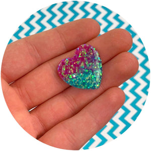 Jumbo Heart Charms - Shop Slime Supplies - Dope Slimes