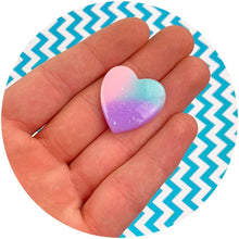 Load image into Gallery viewer, Jumbo Heart Charms - Shop Slime Supplies - Dope Slimes