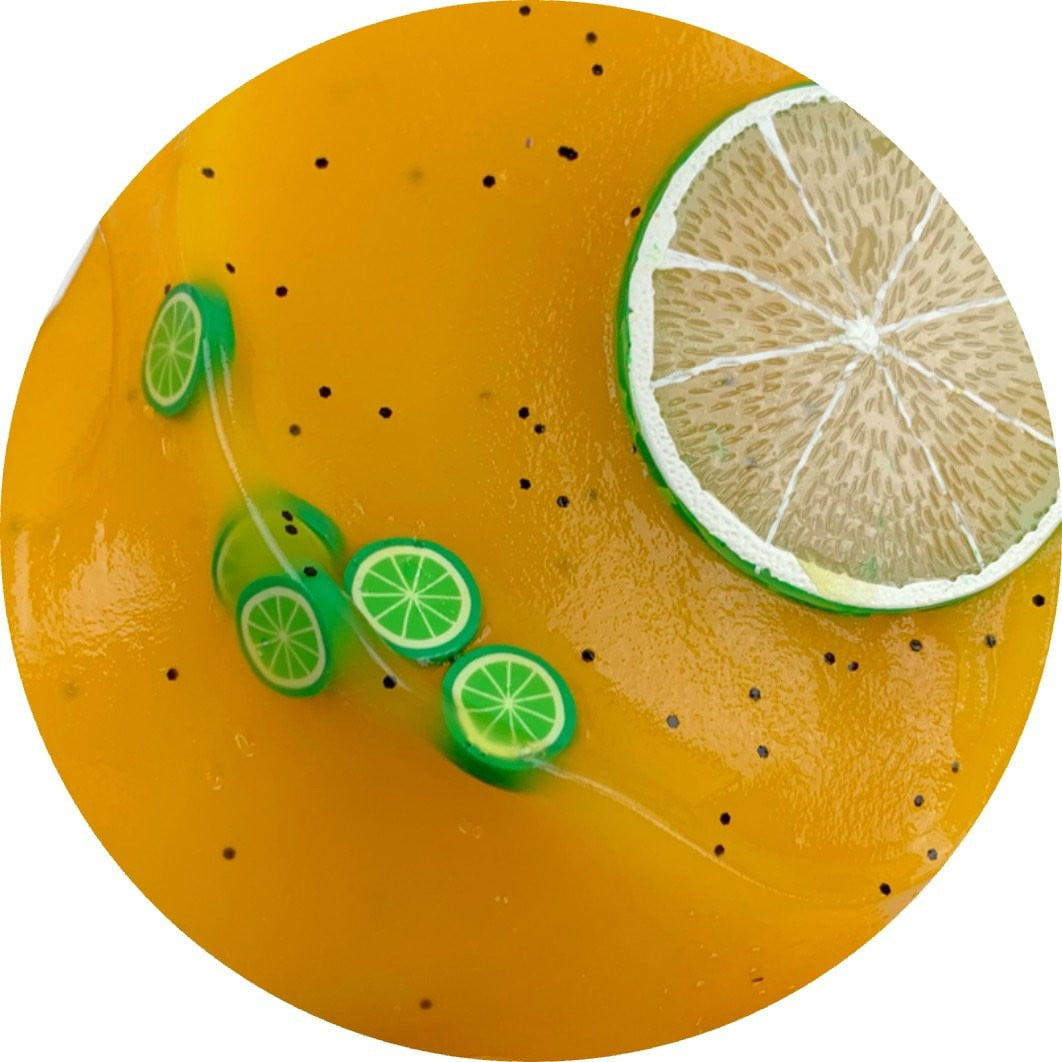 Passionfruit Limeade Jelly Slime - Shop Slime - Dope Slimes