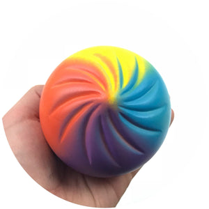 Rainbow Bun Squishy Jumbo