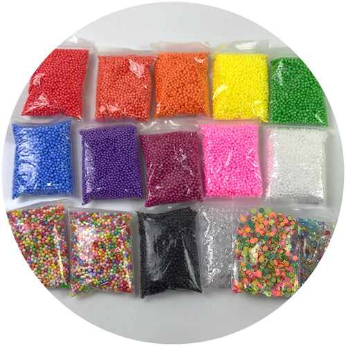 JUMBO Multipack Foam Bead Slime DIY Kit