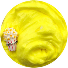 Load image into Gallery viewer, Movie Theatre Popcorn Butter Floam Slime Scented w/ Charm
