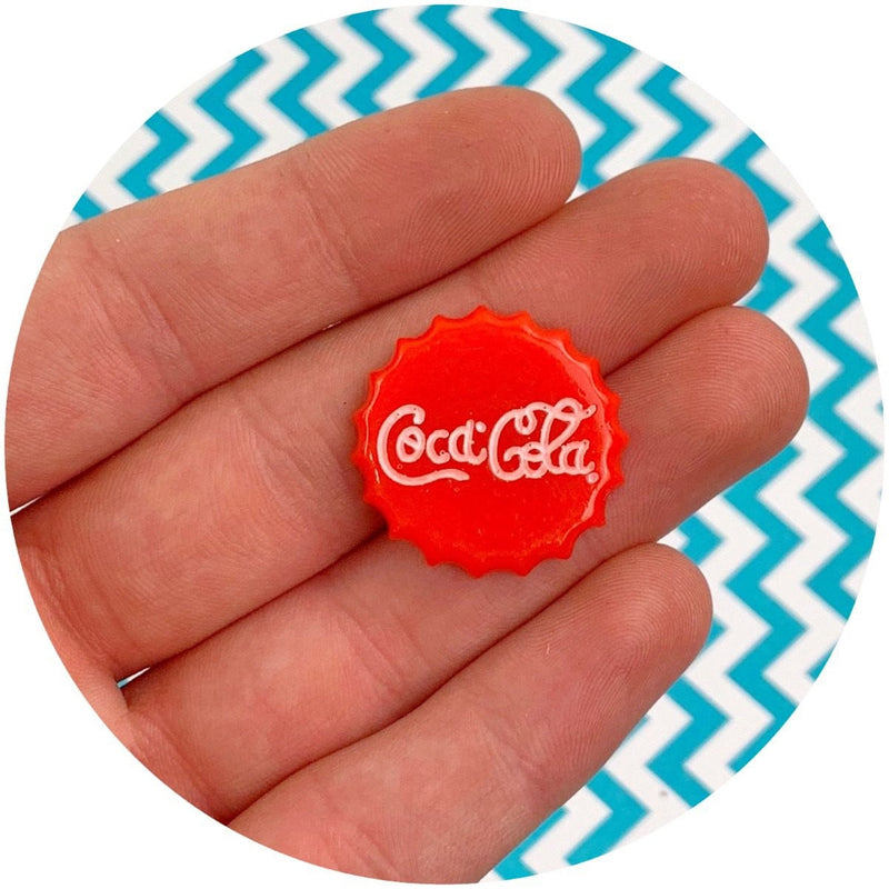 Coca-Cola Cap Charm | Slime Supplies | Dope Slimes