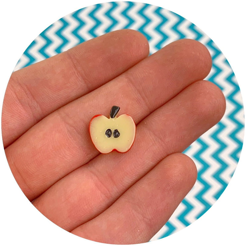 Apple Charm - Fimo Slices - Dope Slimes LLC - Dope Slimes LLC