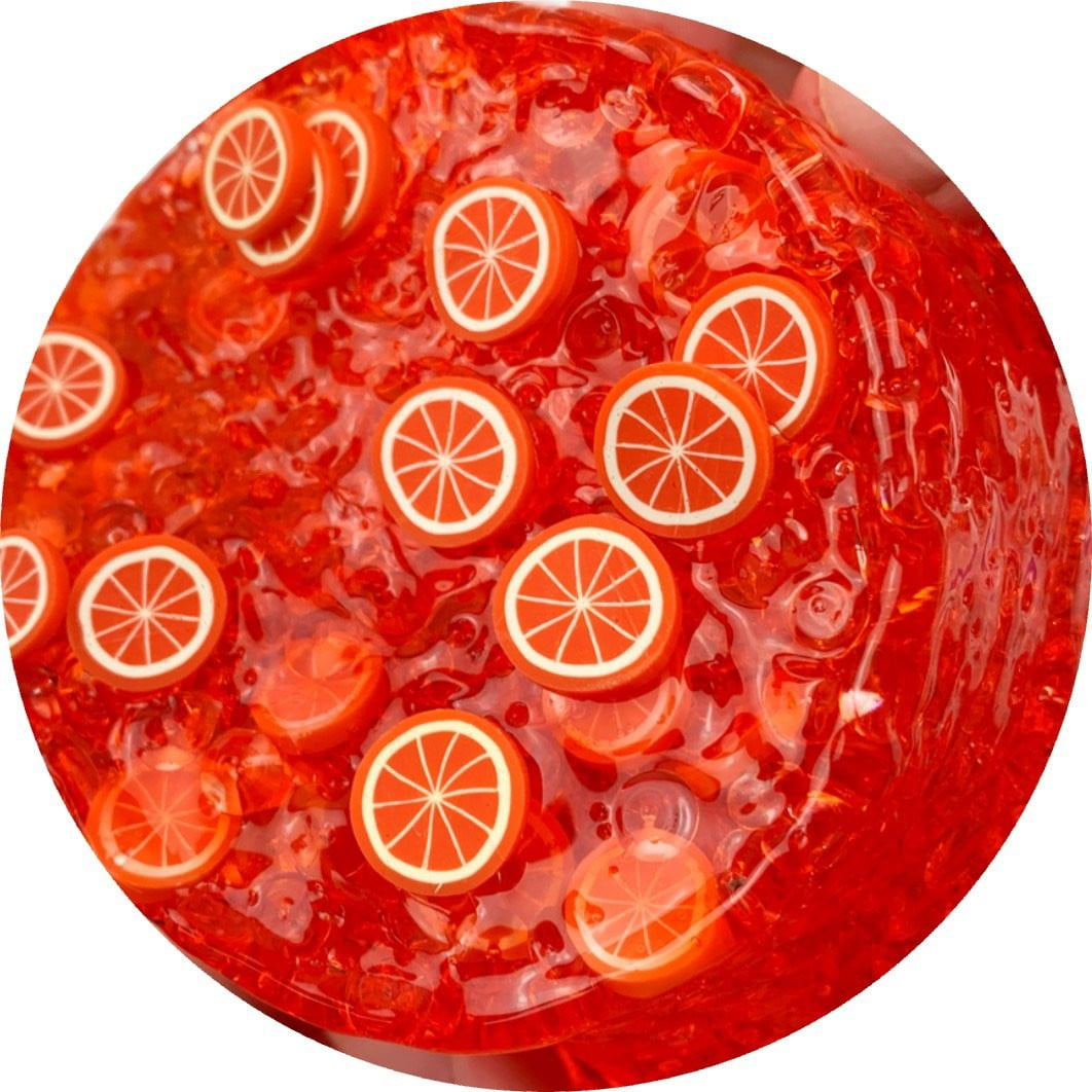 Blood Orange Refresher Fishbowl Slime - Shop Slime - Dope Slimes