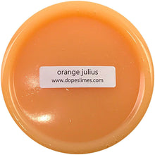Load image into Gallery viewer, ORANGE JULIUS MICROBEAD FLOAM SLIME
