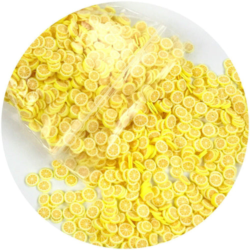 Lemon Fimo Slices