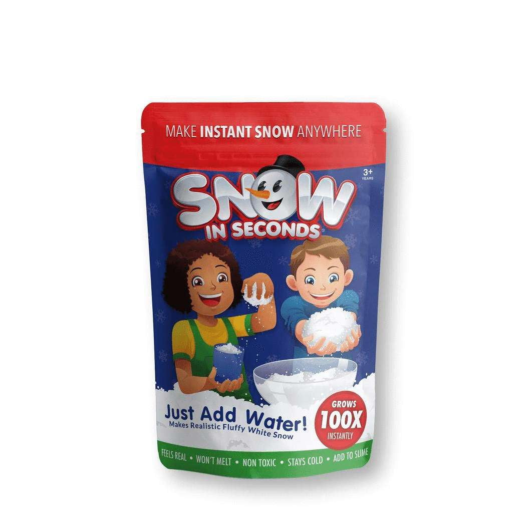 Instant Snow - Fimo Slices - Dope Slimes LLC - Dope Slimes LLC