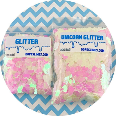 White Holographic Unicorns - Shop Slime Supplies - Dope Slimes