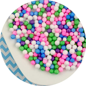 Large Bright Foam Beads