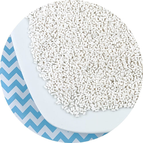 White Sprinkles - Shop Slime Supplies - Dope Slimes