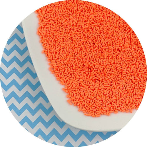 Orange Sprinkles - Shop Slime Supplies - Dope Slimes