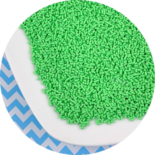 Pastel Green Sprinkles - Shop Slime Supplies - Dope Slimes