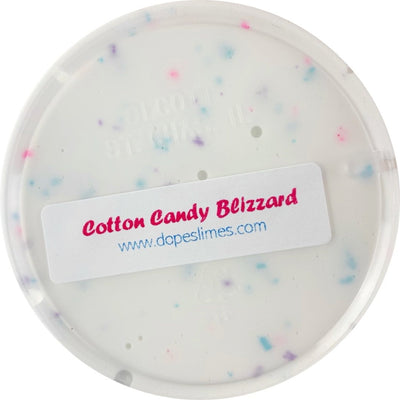Cotton Candy Blizzard Slime Scented - Shop Slime - Dope Slimes