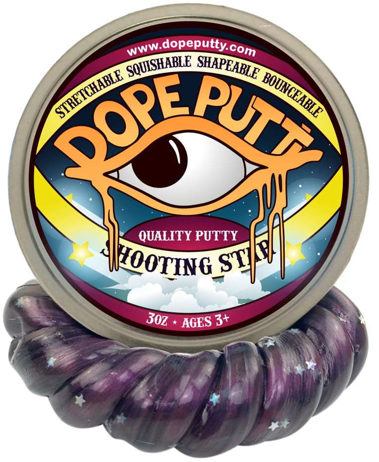 dope putty dopeputty shooting star