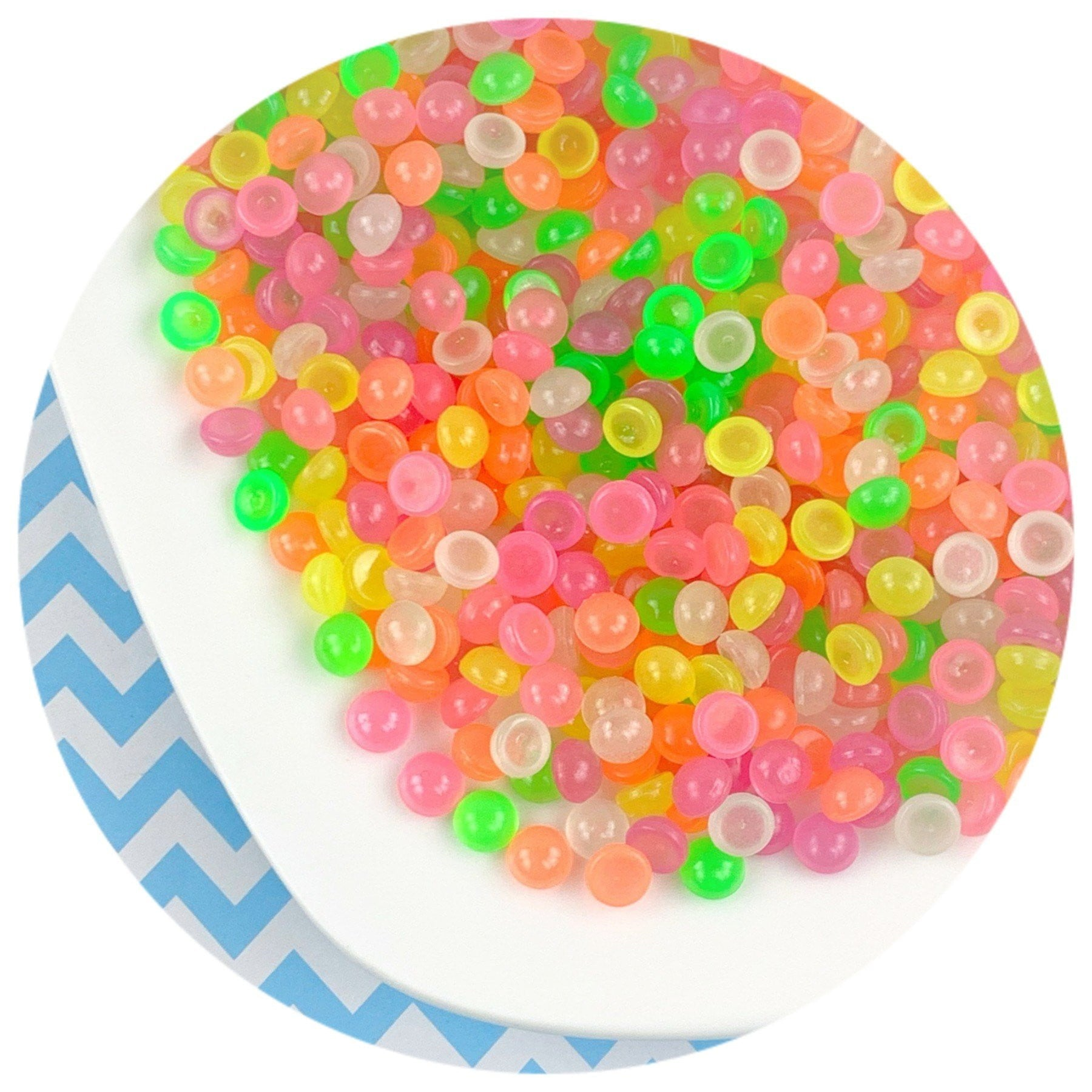 Glow Fishbowl Beads - Buy Slime Supplies - DopeSlimes
