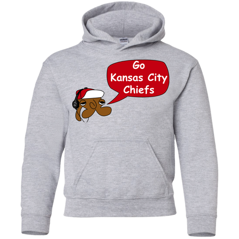 Jimmyraynemkids Kansas City Chiefs Youth Pullover Hoodie