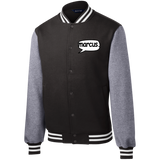 Marcus. Fleece Letterman Jacket