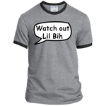 Watch Out Lil Bih Ringer Tee