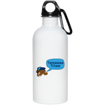 Tennessee Titans 20 oz. Stainless Steel Water Bottle