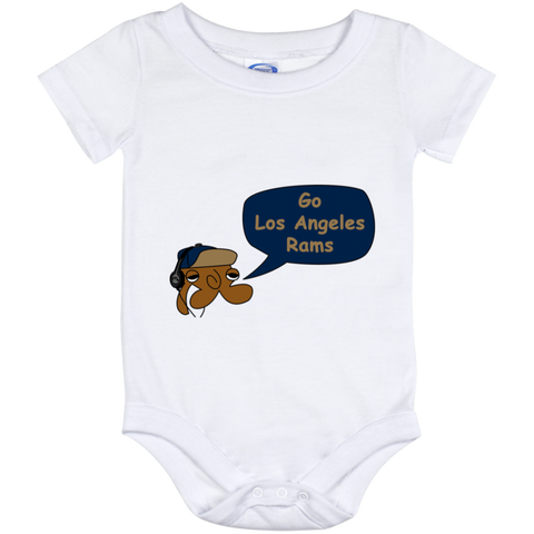 JimmyraynemkidsLos Angeles Rams Baby Onesie 12 Month