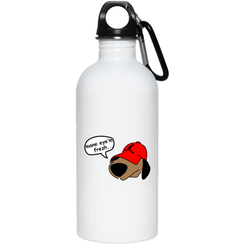 JimmyRay Mane Eye'm Frezh 20 oz. Stainless Steel Water Bottle