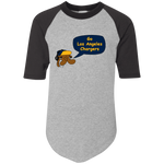 JimmyRay Los Angeles Chargers Raglan Jersey