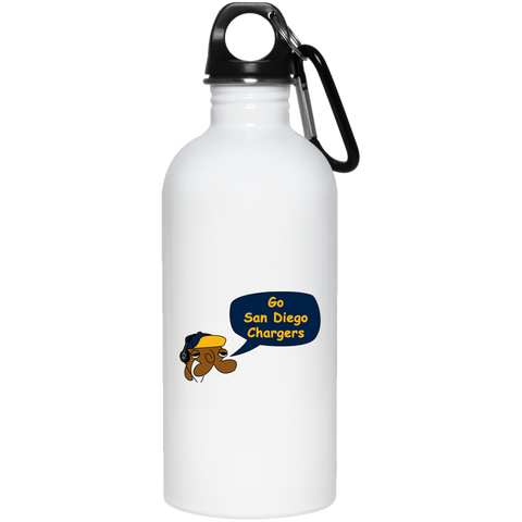 JimmyRay San Diego Chargers 20 oz. Stainless Steel Water Bottle