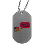 JimmyRay Houston Texans Dog Tag
