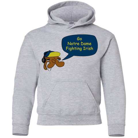 Jimmyraynemkids Notre Dame Youth Pullover Hoodie