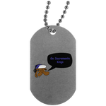 JimmyRay Sacramento Kings Dog Tag