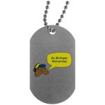 JimmyRay Michigan Wolverines Dog Tag