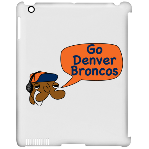 JimmyRay Denver Broncos iPad Clip Case