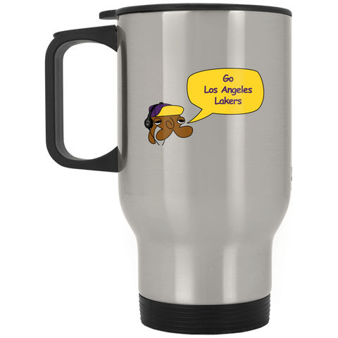JimmyRay Los Angeles Lakers Travel Mug