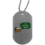 JimmyRay Milwaukee Bucks Dog Tag